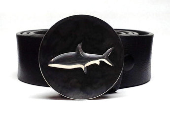 Bonefish Belt Buckle Hand Embossed - TYGER FORGE - Mark Goodwin