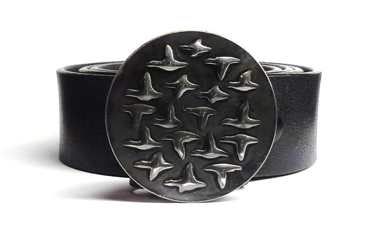 duck goose belt buckle Tyger Forge Mark Goodwin