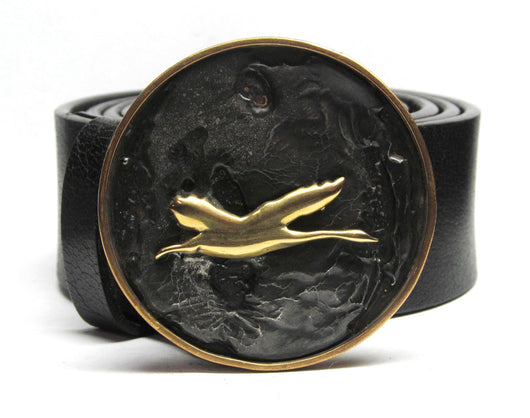 Flying Goose Belt Buckle All Cast - TYGER FORGE - Mark Goodwin