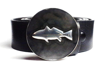 Redfish Belt Buckle Hand Embossed - TYGER FORGE - Mark Goodwin