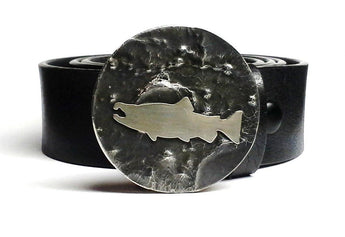 Salmon Belt Buckle Hand Cut - TYGER FORGE - Mark Goodwin