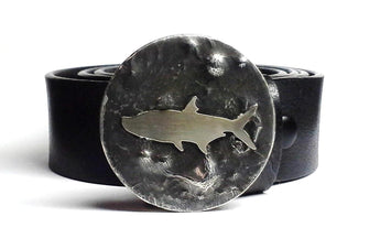 Tarpon Belt Buckle Hand Cut - TYGER FORGE - Mark Goodwin