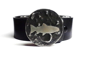 Trout Belt Buckle Hand Cut - TYGER FORGE - Mark Goodwin
