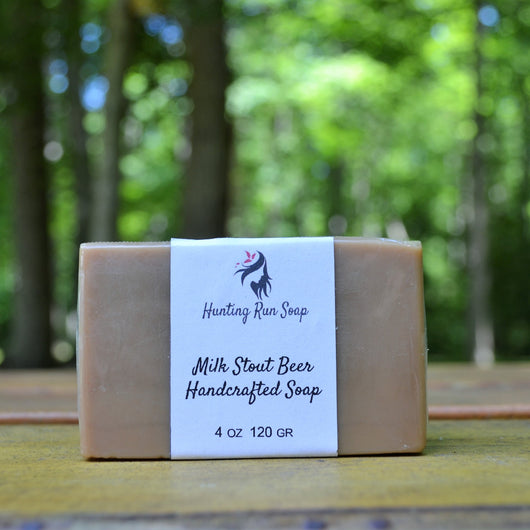 Milk Stout Beer Soap - Hunting Run Soap