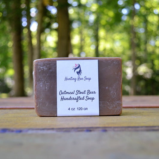 Oatmeal Stout Beer Soap - Hunting Run Soap