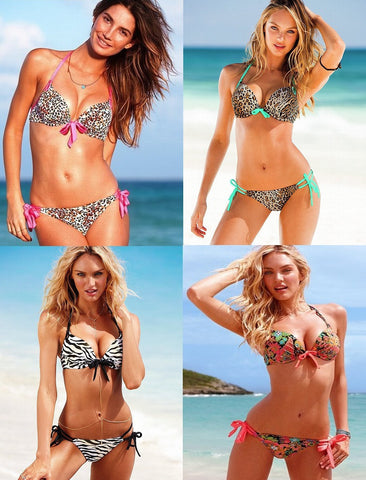 Womens Fashionable Print Bikini Sexy Swimsuit
