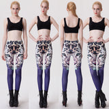 Womens Sexy Leopard Stylish Fit Leggings