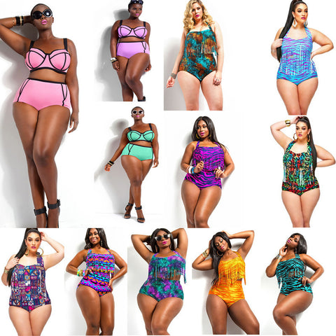 Womens Trendy Plus Size Sexy Bathing Swimsuit