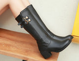Womens Hot High City Casual Boots