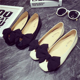 Womens Charming Ribbon Casual Flats