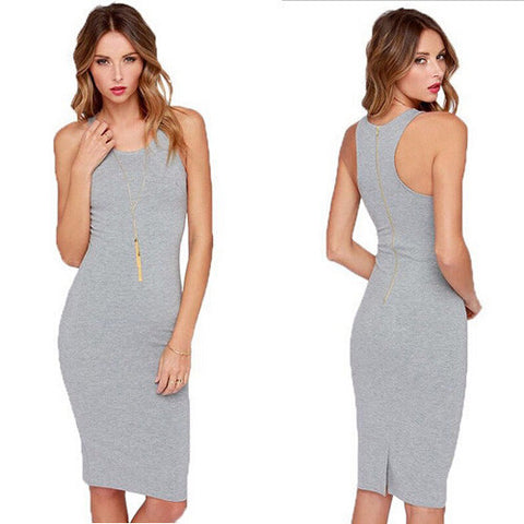 Womens Summer Sexy Sleeveless Vest Skirt Dress