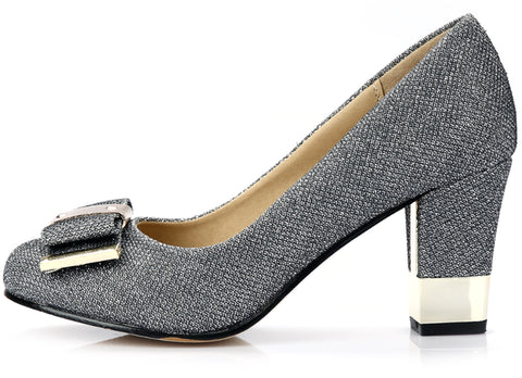 Womens Pretty Office Heels