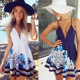 Womens Sexy Summer Mini Beach Dress