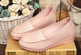 Womens Cool Perforated Loafer Casual Shoes