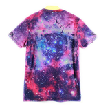 Mens Animal Cat Galaxy T-Shirt Funny Shirt