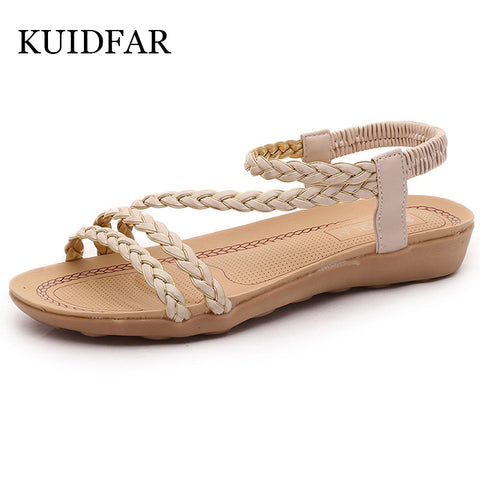 Womens Summer Flip Flops Ladies Flat Sandals