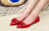 Womens Charming Ribbon Work Flats