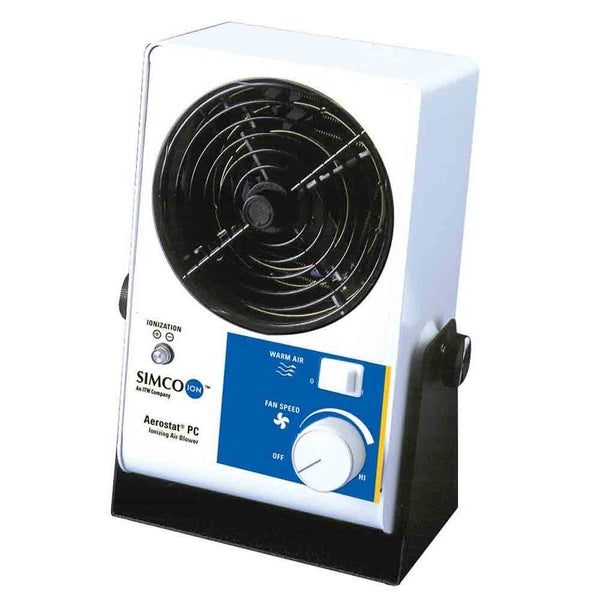 Aerostat® PC Fast Discharge Single-fan Benchtop Ionizing Blower
