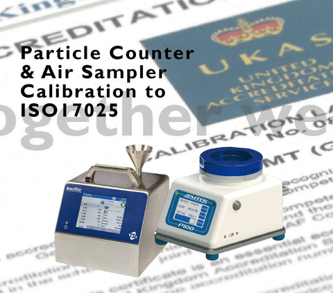 ISO21501-4  Optical Particle Counter Calibration