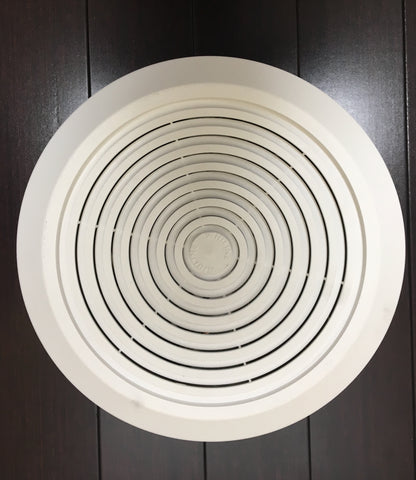 "Ventline Bathroom Ceiling Exhaust Fan 8"" Round"