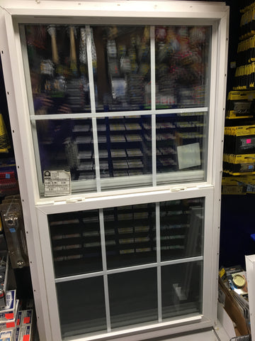 Kinro White Vinyl Window