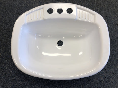 Mobile Home Square Bathroom Sink PVC