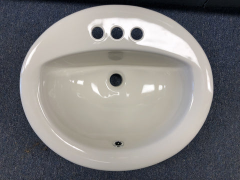 Mobile Home Porcelain Bathroom Sink
