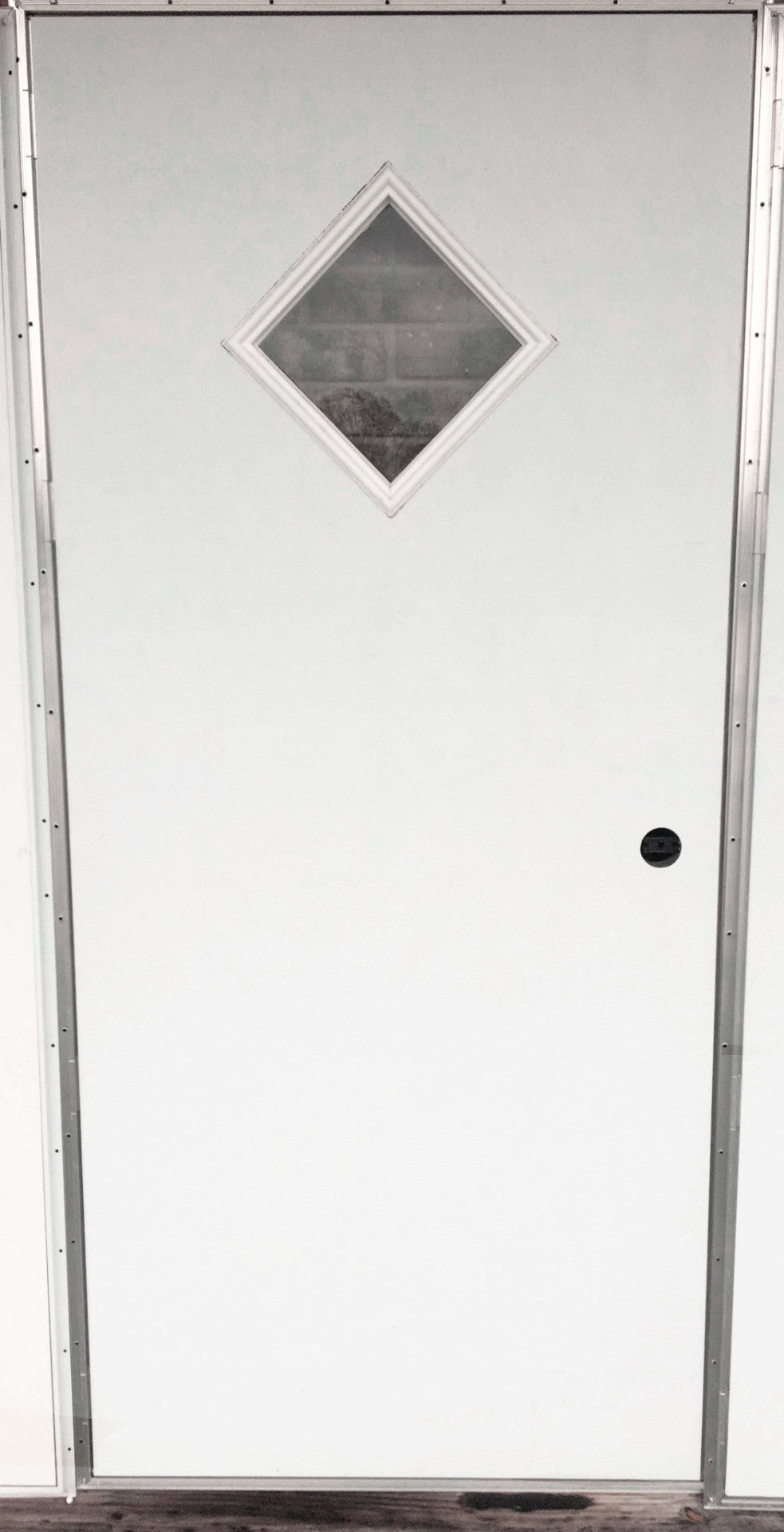 Charmant Elixir Series 200 Exterior Outswing Door With Diamond Window L/H Or R/H