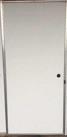 Elixir Series 200 Exterior Outswing Door Blank in White L/H or R/H