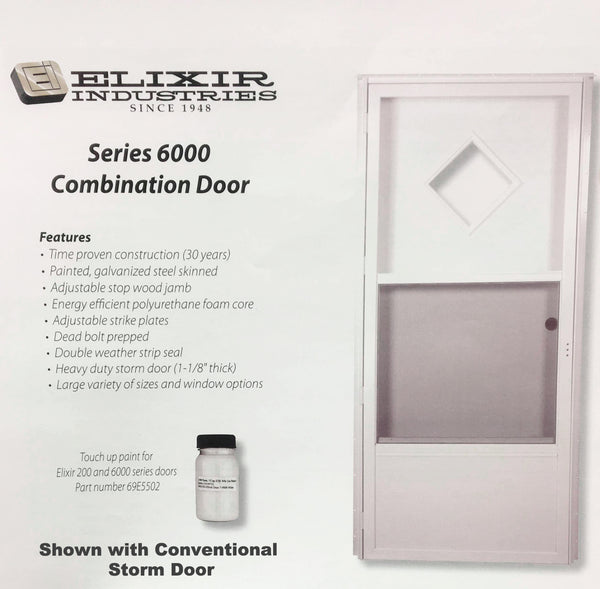 Elixir Industries Series 6000 Combination Door R H L H 4