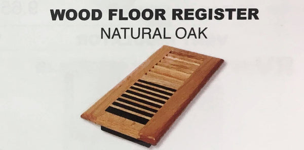 Wood Floor Vent Register 4x8 Or 4x10 M Amp L Mobile Home Supply