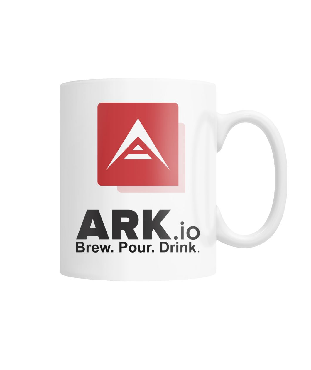 ARK.io BPD wht White Coffee Mug
