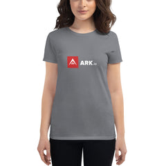 ARK White Letter Women's t-shirt