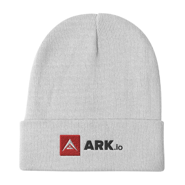 ARK black letter Embroidered Beanie