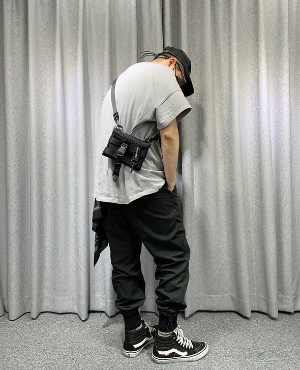 Adjustable Tactical Bag-streetwear-techwear