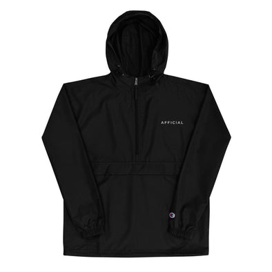 AFFICIAL x Champion Embroidered Packable Jacket-streetwear-techwear