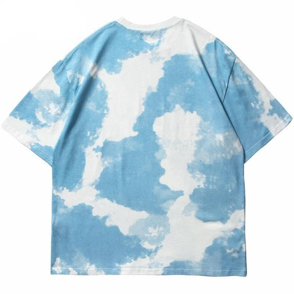 Cloud Print Senseless T-Shirt-streetwear-techwear
