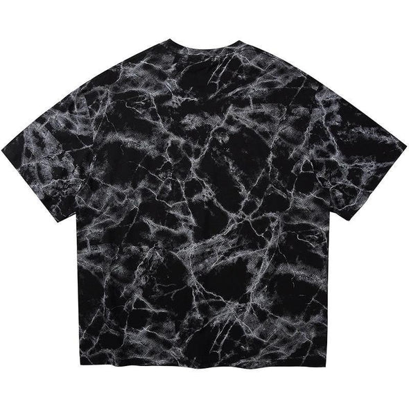 Marbled Death Metal T-Shirt-streetwear-techwear-street-style-mens-womens-fashion