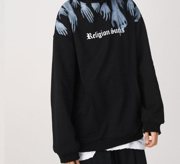 Religion Sucks Hoodie-streetwear-techwear-street-style-mens-womens-fashion