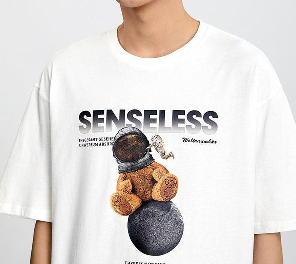 Senseless Teddy Bear T-Shirt-streetwear-techwear
