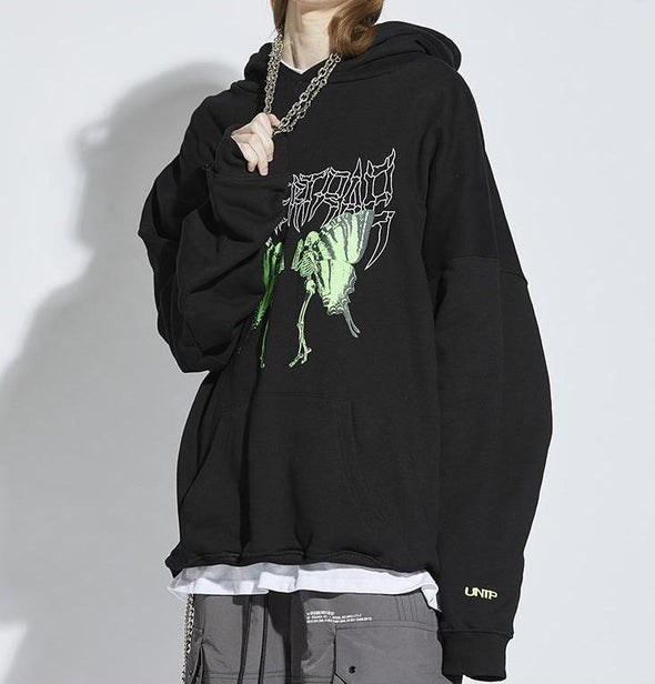 Undertrap Metal Print Hoodie-streetwear-techwear-street-style-mens-womens-fashion