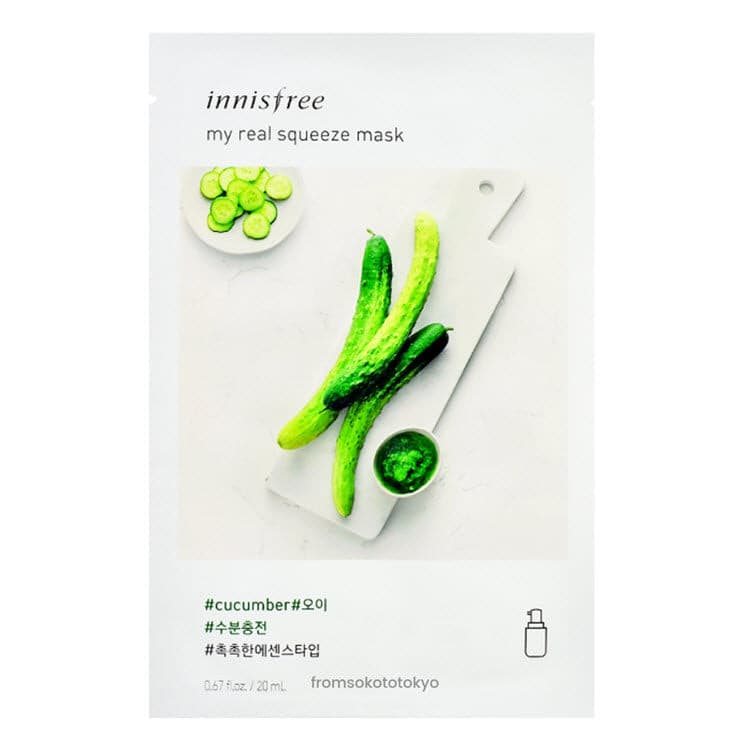Innisfree My Real Squeeze Mask Cucumber