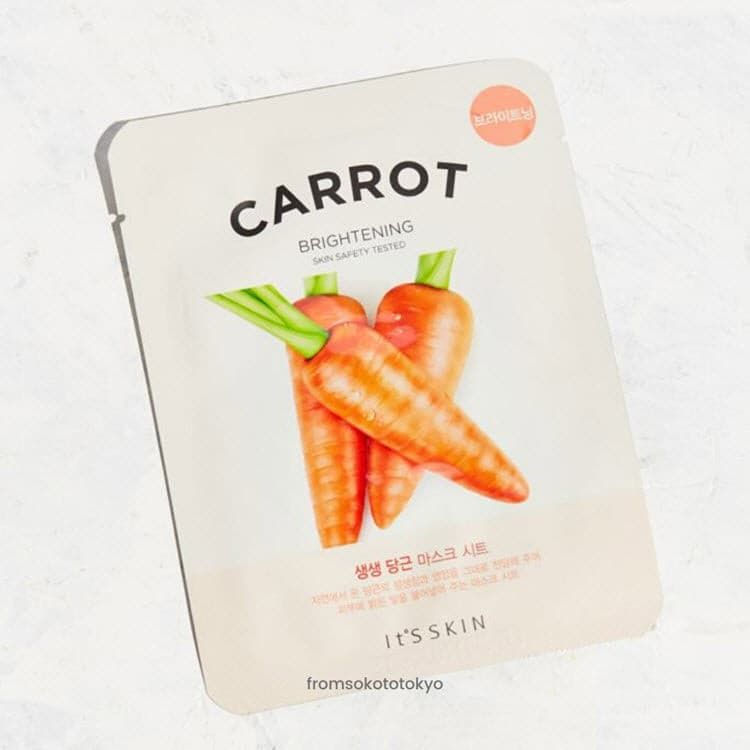 It's skin The Fresh Mask Sheet Carrot