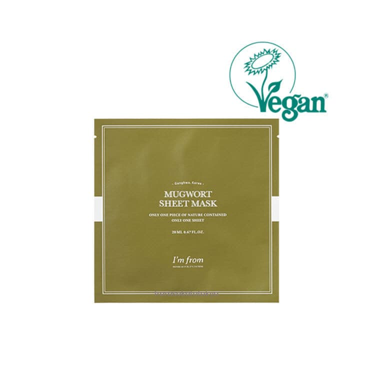I'm from Mugwort Sheet Mask 20ml