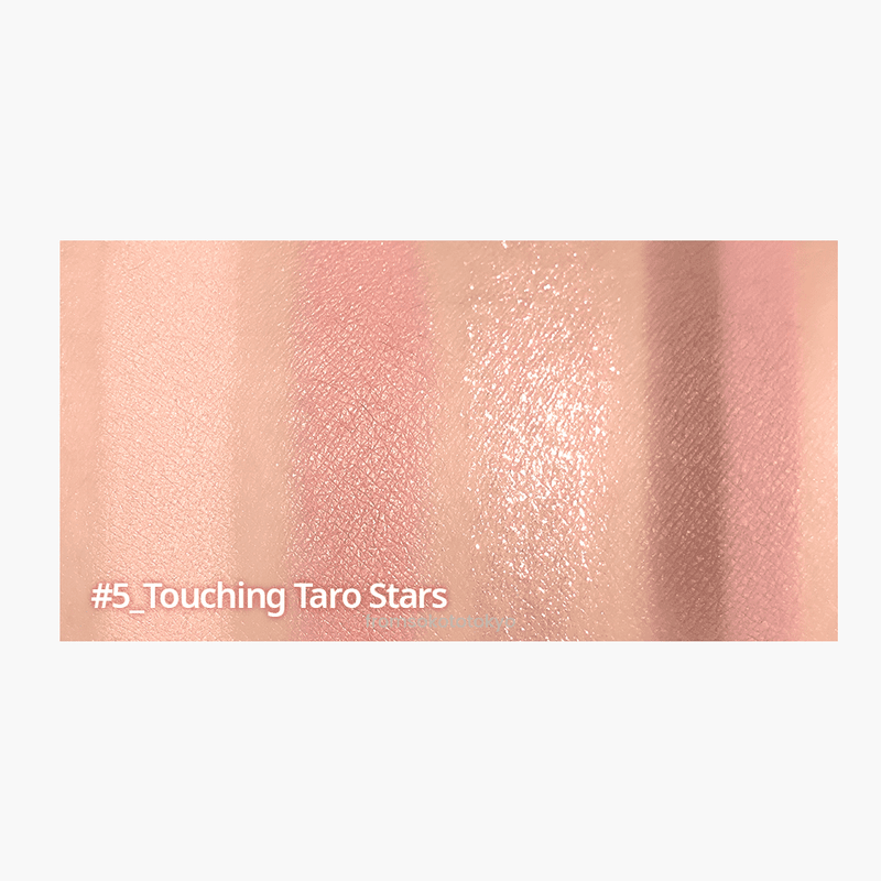 PERIPERA Ink Pocket Shadow Palette #5 Touching Taro Stars