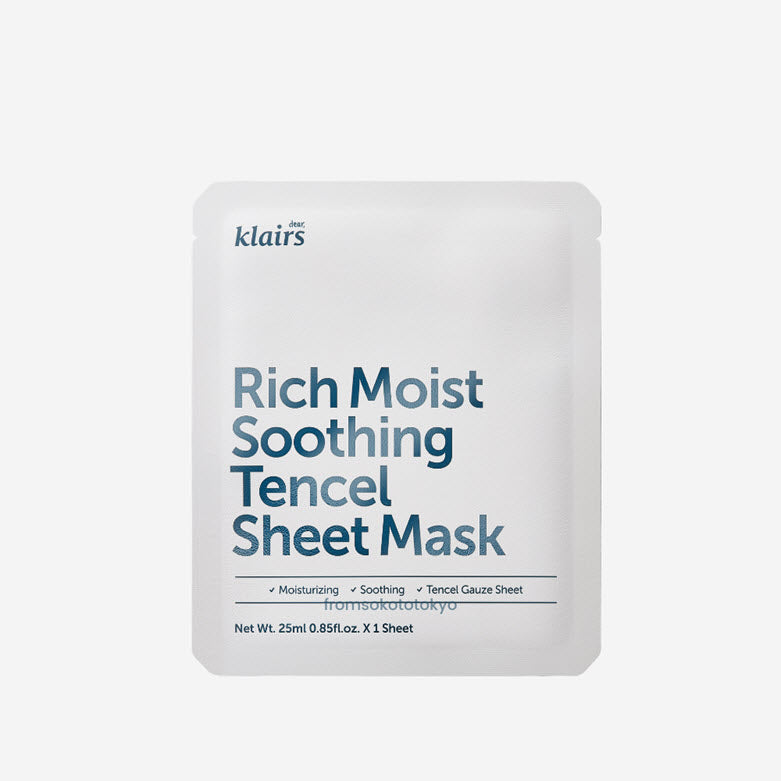 Rich Moist Soothing Sheet Mask
