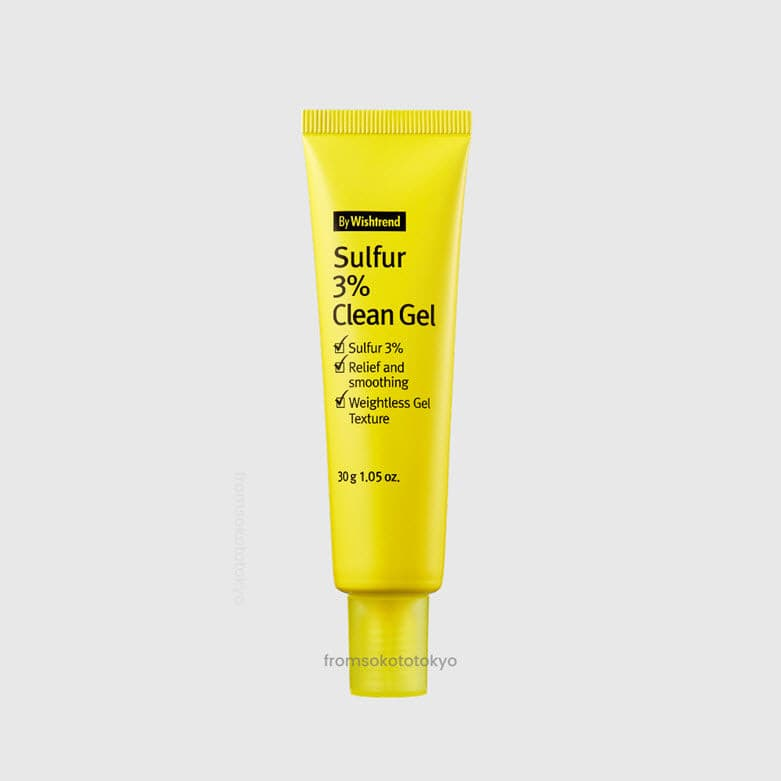 Sulfur 3% Clean Gel 30g