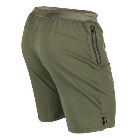 Perform Shorts - Army Green