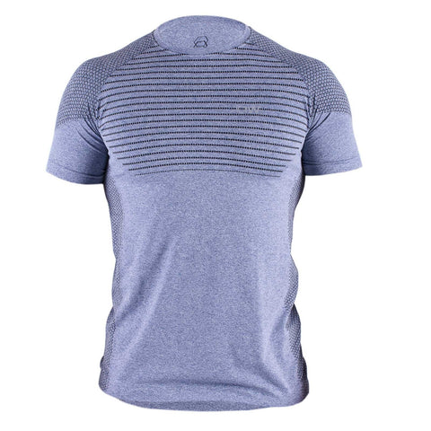 Seamless T-Shirt - Blue/Black