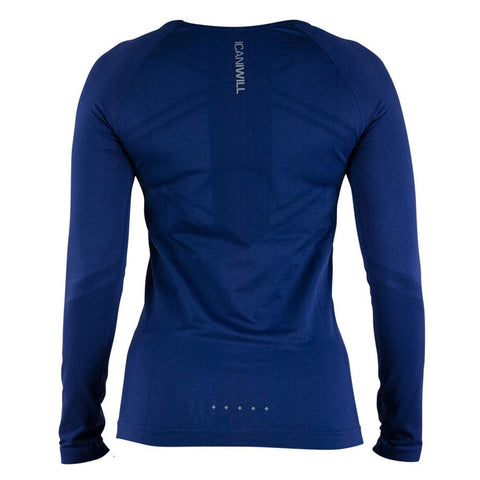 Seamless Long Sleeve - Navy